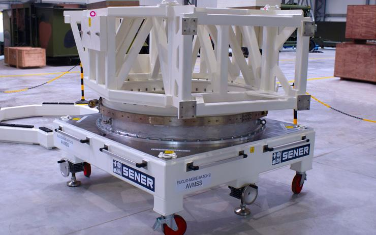 Test campaign of the Satellite AVM Support Stand (EUCLID)