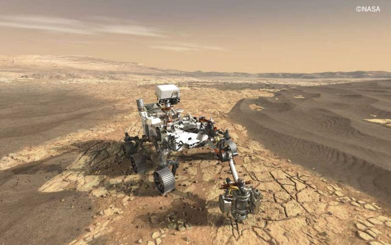 The Perseverance rover lands on Mars with technology from SENER Aeroespacial on board