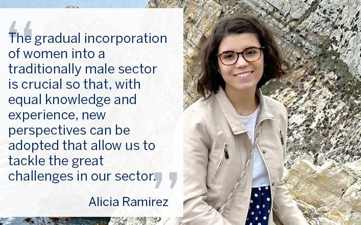 Alicia Ramírez, head of the FORAN product support group